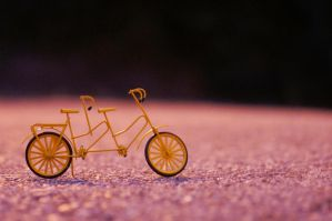 little yellow tandem by 97lessi