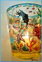 Siren Candle Holder by Bonniemarie