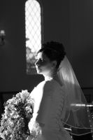 Black and White Bride by Mhigis