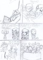 Nanashi's surprise sketch page 1 by Mailus