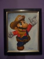 Mario Painting by Jelle-C