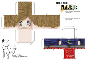 Craft your PewDiePie! by anouki-morgenstern