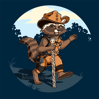 Ranger Rocket Shirt Design by SingapuraStudio
