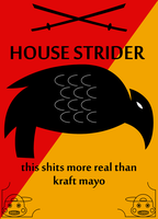 House Strider sigil by adrius15