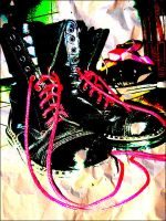 PunkRockGothic Boots of Glory by famma
