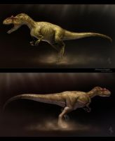Allosaurus fragilis by Swordlord3d