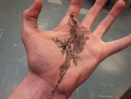 Hand doodle by Jmorr16