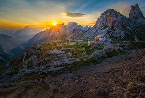 Tre Cime, up town by alierturk
