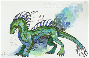 Marker Dragon by SunStateGalleries