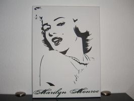 Marilyn Monroe by SapSone
