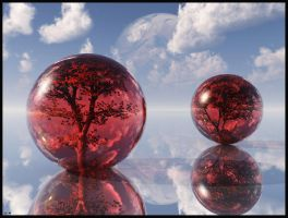 Red Maple Spheres... by chrisntheboat