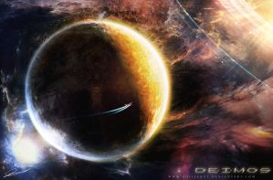 Deimos orb by GuilleBot
