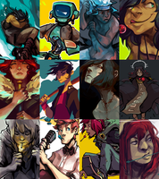2014 Art Summary by corviday