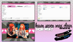 Theme edited by me:kaws seven max clear by DaniaPeaceeLovee