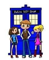 Tripp and the Tardis. by Wun23