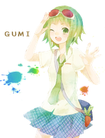 Gumi Render-1 by xMyBrokenPromises