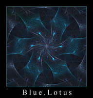 Blue Lotus by Gygrazok