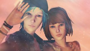 Life is strange - Max and Chloe  [SFM] by Mrjimjamjamie