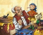 Geppetto's Workshop by Isynia-Artessa