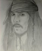 Jack Sparrow by Lalliebear