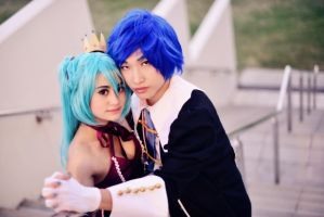 Romeo and Cinderella Project Diva by PrincessUnicorn-Sama