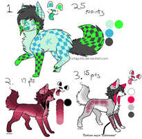 Scene-Doggeh Adopts -OPEN- by TheRainyWolf