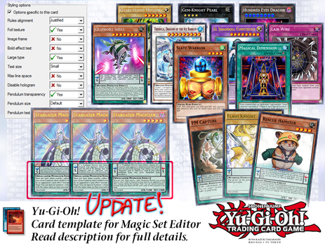 Yu-gi-oh! Series9 MSE Template v1.1 [UPDATE 2-Jan] by CelticGuard