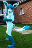 Glaceon Costume by AceTrainerFraya