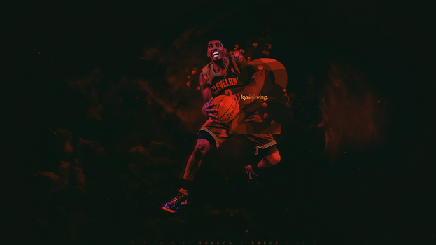 Kyrie Irving - collab with Panos by sha-roo