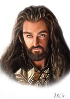 King Thorin by xavi-M