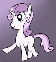 ATG III - Day 2 - Sweetie Belle Walking by Zhooves