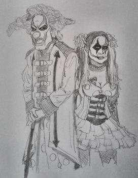 Carnival of Carnage (Jack The Clown and Chance) by Blackaddergoesforth
