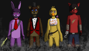 FIve Nights at Freddy's (My Furry version) by GinoPinoy