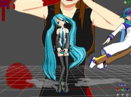FIRST MMD PIC!ASOJDQANCISXHQACN! by Ask-HetaoniShina