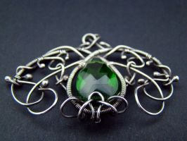Green Pendant by viviola