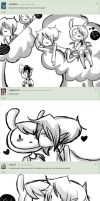 Ask Fionna and Marshall -1 page- by Zllm