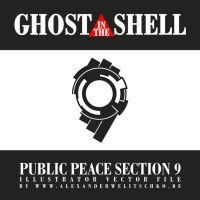 Ghost in the shell Public Peace Section 9 Logo by alexanderwelitschko