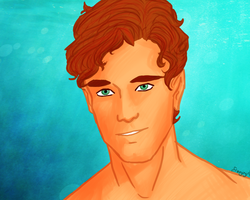 Finnick Odair by ifroggirl