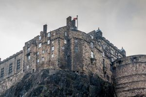 Edinburgh Castle standing tall by 6rimR3ap3r