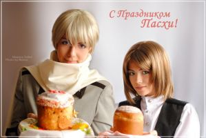 APH -  Merry Easter_02 by Megane-Saiko