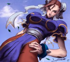 Chun Li -Color- by Strike7