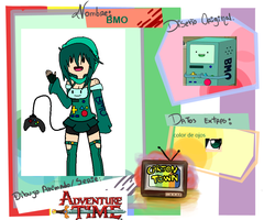 Ficha de Cartoon Town: BMO (renovada) by D-emi24