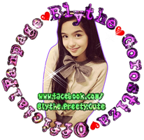 Logo for Blythe Gorostiza OfficialFanpage by pempengcoswift13