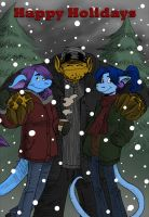 Have A Draconic Holiday by MiloNeuman