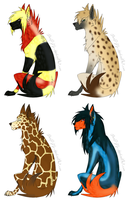 scenewolf adoptables 2 OPEN by AForDA