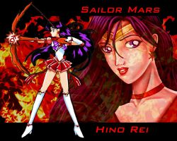 Sailor Mars by racookie3