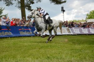 3DE Cross Country Sandra Auffarth on Blue Frontier by LuDa-Stock