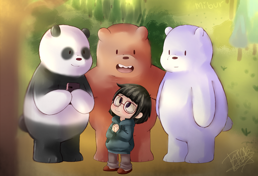 We bare bears! by Mibur