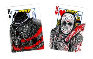 Original Horror Cards by Izik00