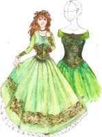 Green Dress by ciajna